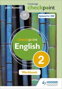 Picture of Cambridge Checkpoint English Workbook 2 - John Reynolds (Hodder)