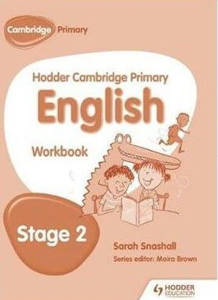 Picture of Hodder Cambridge Primary English Workbook Stage 2