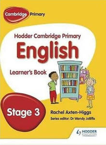 Picture of Hodder Cambridge Primary English Learner's Book Stage 3