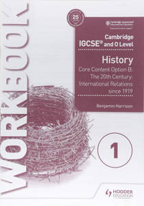 Picture of Cambridge IGCSE and O Level History Workbook - Benjamin Harrison