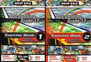 Picture of New Era Accounting Grade 12 Exercise Books (Set of 2) (CAPS)