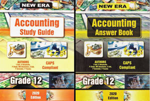 Picture of New Era Accounting Grade 12 Study Guide (Set of 2) (CAPS)