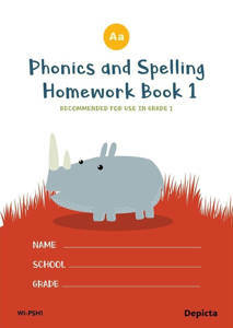 Picture of Phonics and Spelling Homework Book 1 - Depicta