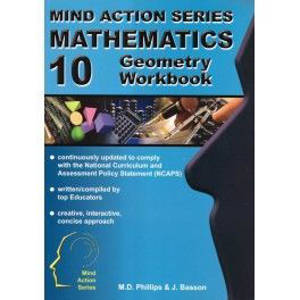 Picture of Mind Action Series Mathematics Geometry Grade 10 Workbook 2016 (NCAPS)