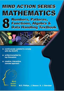 Picture of Mind Action Series Mathematics Grade 8 Textbook - Algebra, Numbers, Patterns, Functions, etc (NCAPS)