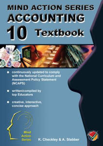 Picture of Mind Action Series Accounting Grade 10 Textbook 2017 (NCAPS)