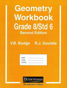 Picture of Educator's Choice Geometry Workbook G8/ST6 - V.B. Budge & R.J. Gouldie