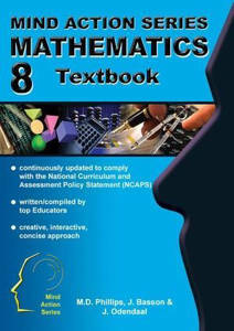 Picture of Mind Action Series Mathematics Grade 8 Textbook (NCAPS)