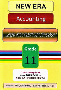 Picture of New Era Accounting Grade 11 Learner's Book (CAPS)