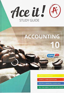 Picture of Ace It! Accounting Grade 10