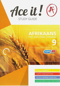 Picture of Ace It! Afrikaans (First Additional Language) Grade 9