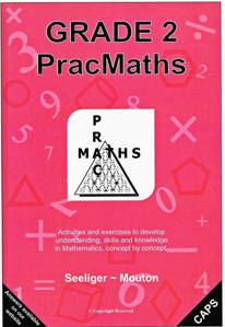 Picture of PracMaths Grade 2 CAPS (Memo Included)