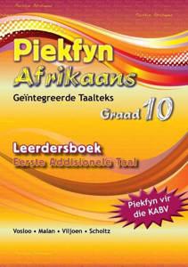 Picture of Piekfyn Afrikaans Leerderboek Graad 10 Eerste Addisionele Taal (KABV)