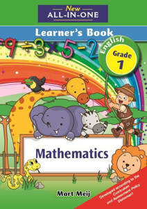Picture of New all-in-one Mathematics Grade 1 Learner's book