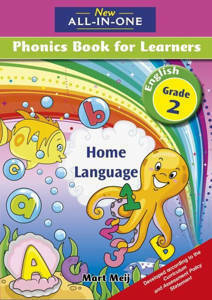 Picture of New all-in-one Phonics (Home Language)  Grade 2 Learner's book