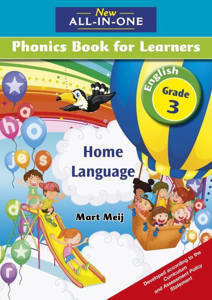 Picture of New all-in-one Phonics (Home Language)  Grade 3 Learner's book