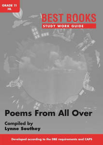 Picture of Bestbooks Studiewerkgids - Poems from All Over Graad 11