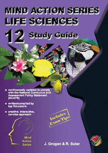 Picture of Mind Action Series Life Sciences Grade 12 Study Guide 2017 (NCAPS)