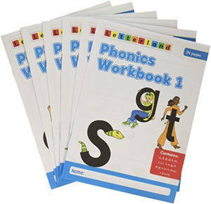 Picture of Letterland Phonics Workbooks 1-6 -  Stamey Carter