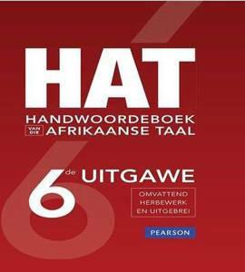 Picture of HAT Handewoordeboek Van Die Afrikaanse Taal (Afrikaans, Hardcover, 6de Uitgawe)