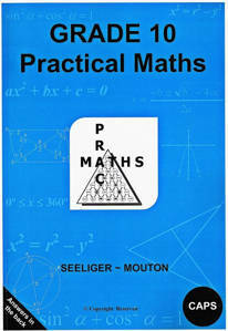 Picture of PracMaths Grade 10 CAPS (Memo Included)